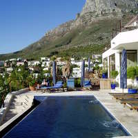 privater Pool, Camps Bay, Kapstadt